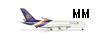 Herpa 502306 1-500 Thai Airways Airbus A380-800