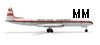 Herpa 504713 1-500 Dan-Air De Havilland Comet IV