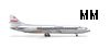 Herpa 505260 1-500 Thai Airways Sud Aviation Caravelle
